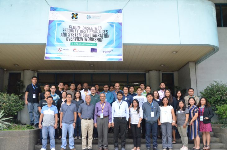 DOST-ASTI hosts Asi@Connect's Cloud-based Web Security Workshop
