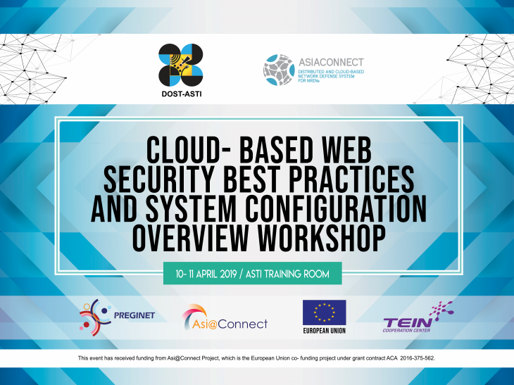 Press Release: DOST-ASTI, Asi@Connect hold Cloud-based Web Security Workshop