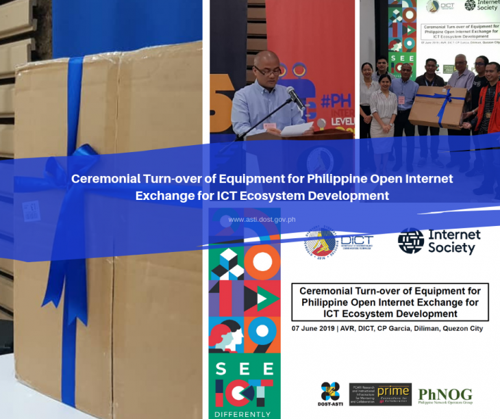 DICT, DOST-ASTI host Ceremonial Turn-Over of Equipment for PhOpenIX