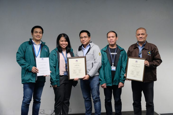 DOST-ASTI employees among the Regional Winners in the 2019 CSC Search for Outstanding Gov't Workers