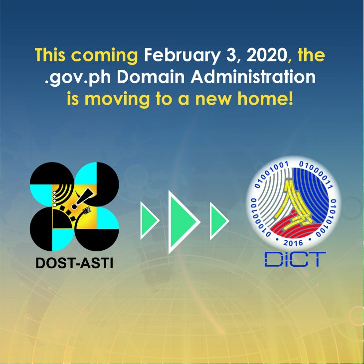 DICT to assume gov.ph DNS administration starting February 2020