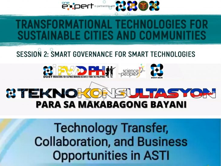 DOST-ASTI developed technologies featured in series of webinars for technology transfer