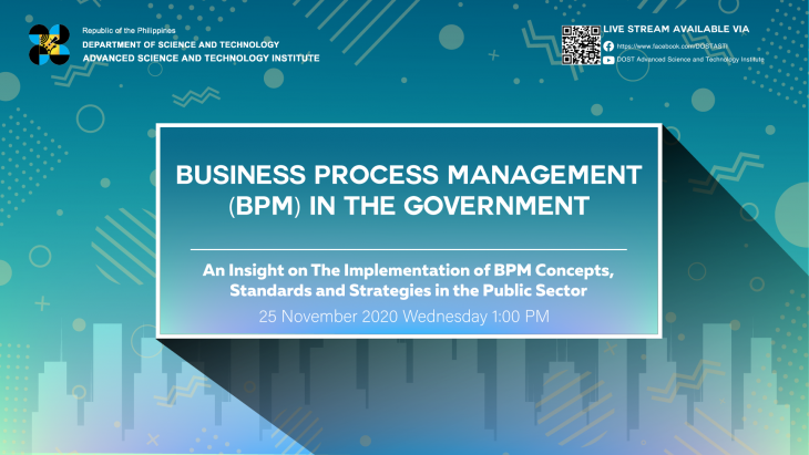 Public Sector BPM Implementation Highlighted during ASTI Virtual Forum