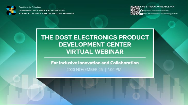 The EPDC Webinar features its Services and Facilities during the National Science and Technology Week 2020