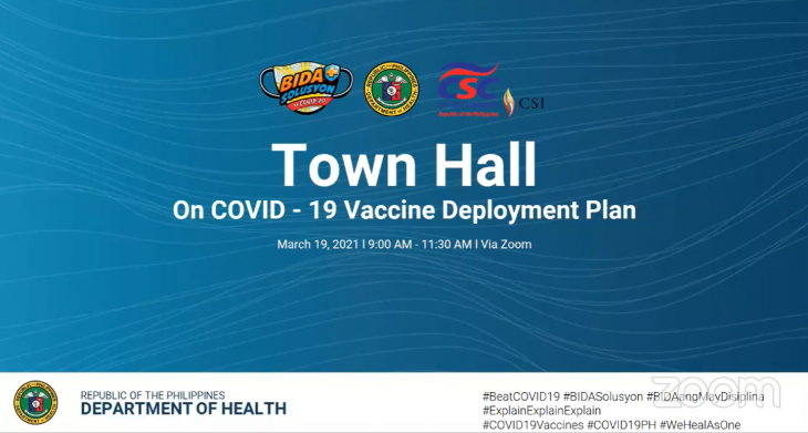 CSC Town Hall on COVID-19 Vaccine Deployment Plan