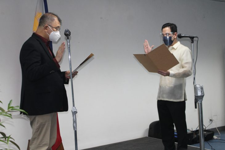 Dr. Franz A. de Leon took oath as the ninth Director for DOST-ASTI