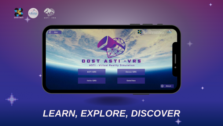 DOST-ASTI VRS App Brings Space Tech to Your Fingertips